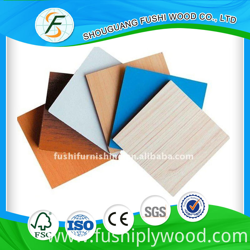 High Glossy Marble Melamine Faced Mdf