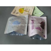 Laminierte mehrschichtige Kunststoff-Aluminiumfolie kosmetische Maske Tasche