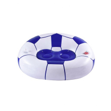 poltrona inflável de futebol