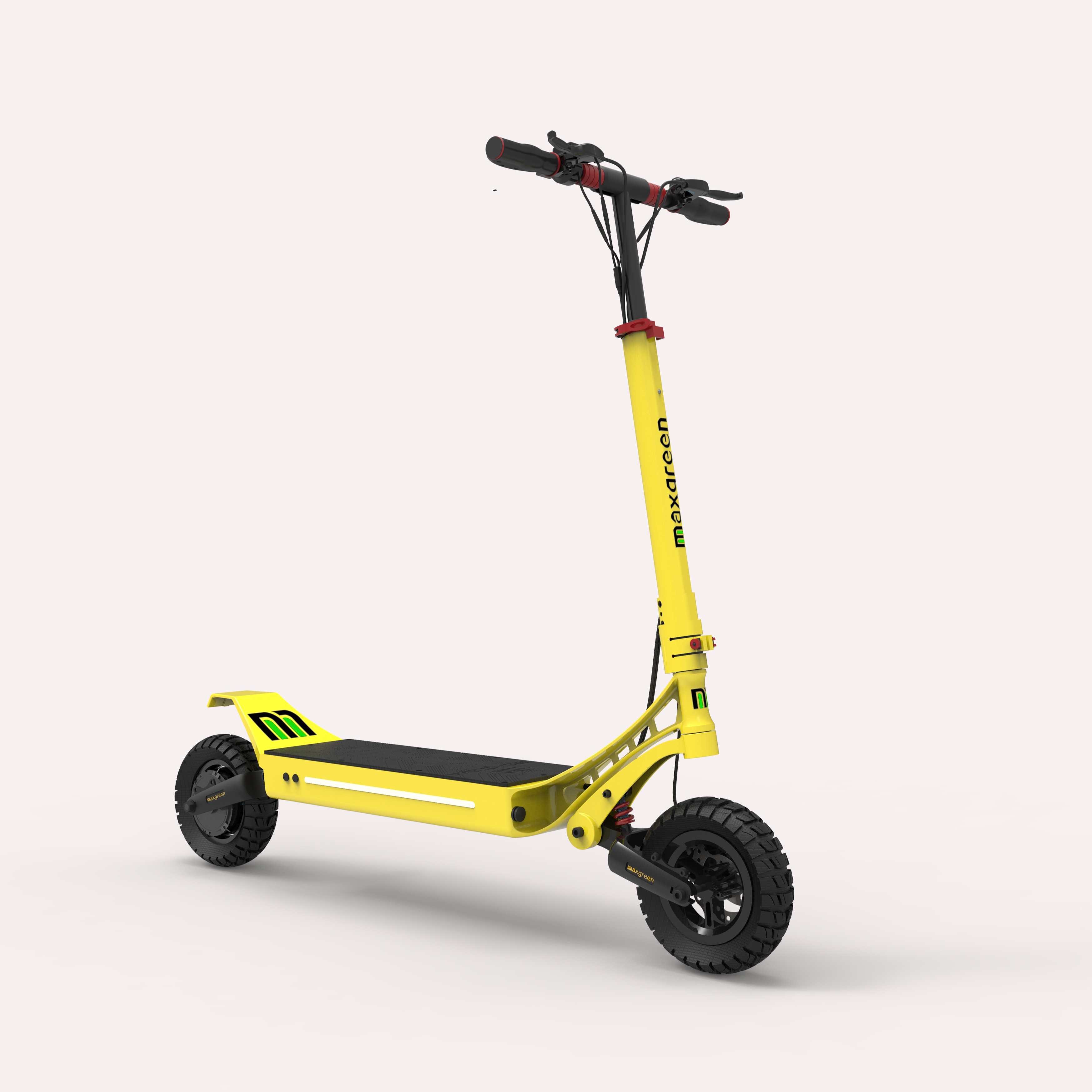 Solid Tyre Scooter