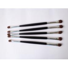 Escova de sombra de virola de cobre com extremidade dupla