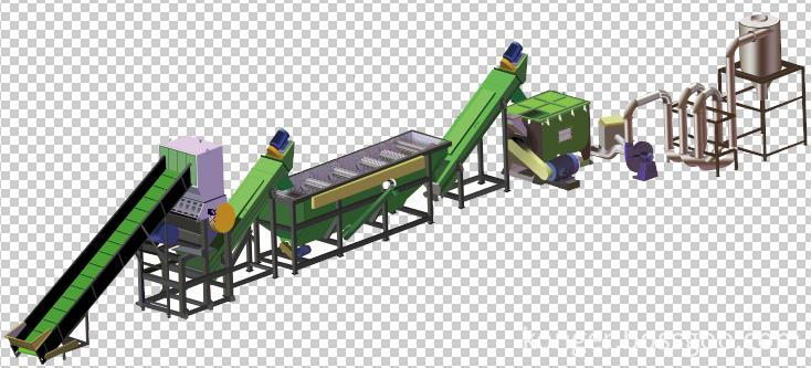 granulator production line