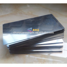 ASTM B386 99.95% Rolled Molybdenum Sheet