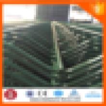 Grüner Vinyl-beschichteter geschweißter Draht-Mesh-Zaun-Hersteller
