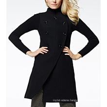 17PKCSC007 women double layer 100% cashmere wool coat