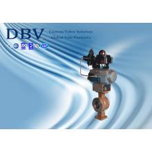 Пневматический шаровой клапан Wcb V с пневматическим управлением