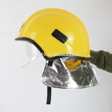 Cheap price Red and Yellow Fireman Helmet