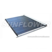 Solar collector pvc pipe