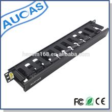 Panel de conexiones de 24/48 puertos / cable de fibra óptica de gestión / distribución