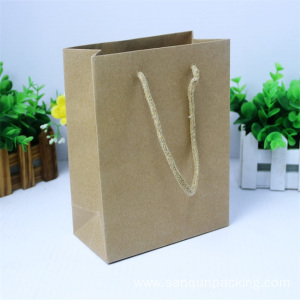 Eco-friendly craft paper box for shopping