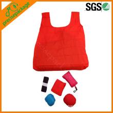 portable 190T nylon folding carrier bag