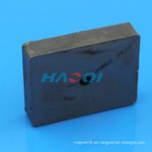 Imanes rectangulares rectangulares de la ferrita de la alta calidad