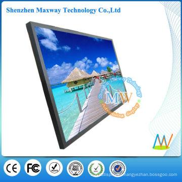 Entrada 70 polegadas tela grande alta brilhante led monitor HDMI