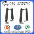 Resortes de gas de tensión de acero con amortiguador