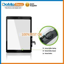 Tela de toque do ar, por atacado Touch Screen digitalizador lente de vidro para iPad para iPad 5 tela