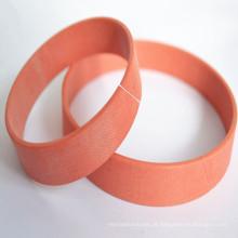 Anel fenólico com anel de desgaste de tecido