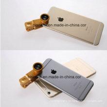 Mobiltelefon-Kameraobjektiv mit patentiertem Universalclip