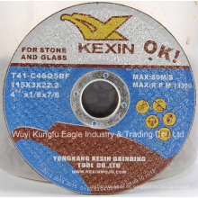 Discos de corte abrasivos de resina de ángulo amoladora En12413