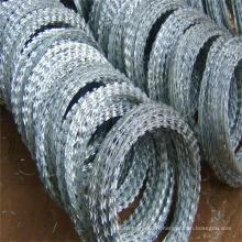 Galvanzied Concertina Razor Wire avec (CE et SGS)