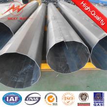 Octogonal 11.8m 500dan verzinktem Stahl Mast Pole für Power Transmission