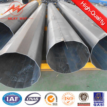 Восьмигранная 11.8 м 500dan Гальванизированный стальной мачте для передачи электроэнергии