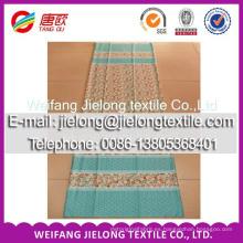 Tela de algodón estampada transferida térmicamente para ropa de cama
