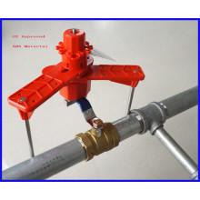 Блокировочный кронштейн универсального шарового клапана с маркировкой СЕ