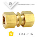 EM-F-B156 Brass union for PVC pipe