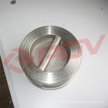 tipo da bolacha preço de aço inoxidável da válvula de verificação do balanço do produto comestível 316