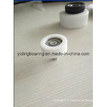Roulement en plastique de poulie de BS30-D8w12 8 * 30 * 12 pour la garde-robe et le tiroir