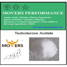 Acetato esteroide anabólico de la testosterona del polvo para el levantamiento de pesas