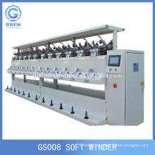 fabricante precio computadora control hilo máquina de bobina suave