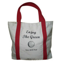 Promotional Grocery Cotton Carrier Bags , Durable Reusable Shopping Bags For Children Clothing