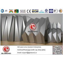 Алюминиевая композитная панель Globond Plus PVDF (PF057)