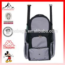 Sport Rucksack Softball Tasche für 4 Fledermäuse mit mehreren Taschen