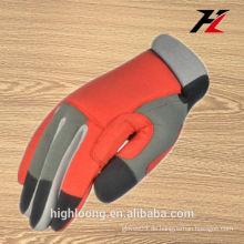 China rot billig Werkzeug Arbeit Handschuhe für Mann
