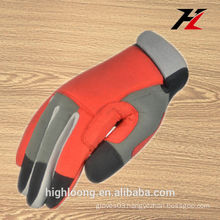 china red cheap tool work gloves for man