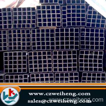 Factory made hot-sale for China Black Square Steel Tube, Galvanized Stainless Steel Tubing Cheap Sold. thin wall 20*20*0.6 square tube export to Cook Islands Exporter