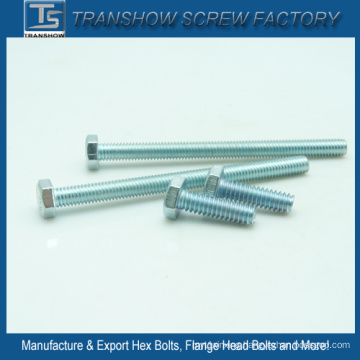 in-Stock Sales M6*30 Galvanized Ms Hexagon Bolts
