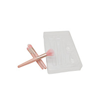 Disposable Makeup Brush Blister Plastic Tray Insert