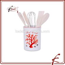 Nützliche billige Keramik Küchenutensilien Halter
