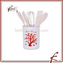 useful cheap ceramic kitchen utensil holder