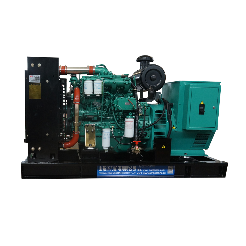 HUALI prime / rated power 80kw / 100kva diesel generator