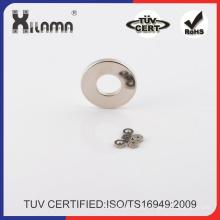Forma de anillo de neodimio hierro boro imán o disco con avellanado