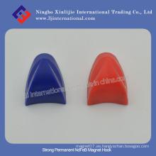Gancho magnético fuerte NdFeB Ganchos plásticos