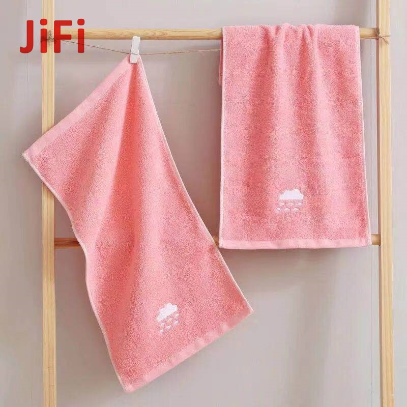 Kids Baby Hot Selling Pretty Design Soft Cotton Face Towel 05