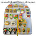 Polyresin Vegetable and Fruits Souvenir Magnet Decoration