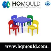 Moulage par injection en plastique pour la série de chaise de table d'enfants d'enfants
