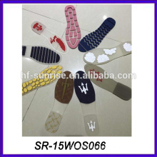 customer design pvc material transparent sole shoe sole factory outsole