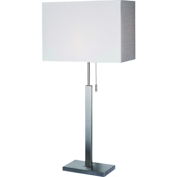 Square Table lamp with square shade